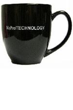 Black & Silver NaProTECHNOLOGY mug