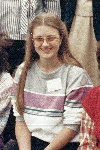 Pam at the end of the seventh Educational Phase in 1984.