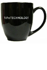 Black &amp; Silver NaProTECHNOLOGY mug